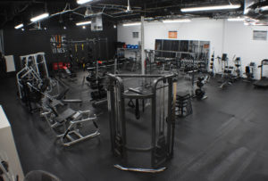 Nue Fitness gym interior